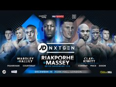 Richard Riakporhe faces Jack Massey for the vacant British Cruiserweight title on December 19 at York Hall: Credit: Matchroom Boxing
