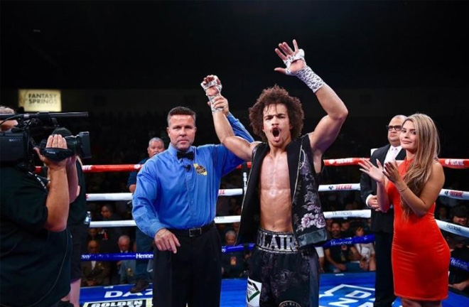 Blair 'The Flair' Cobbs, will be looking to extend his undefeated record. Photo credit: BoxingScene.com