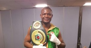 Martin Bakole could be in the mix for a clash with Daniel Dubois or Joe Joyce next year: Credit: Martin Bakole