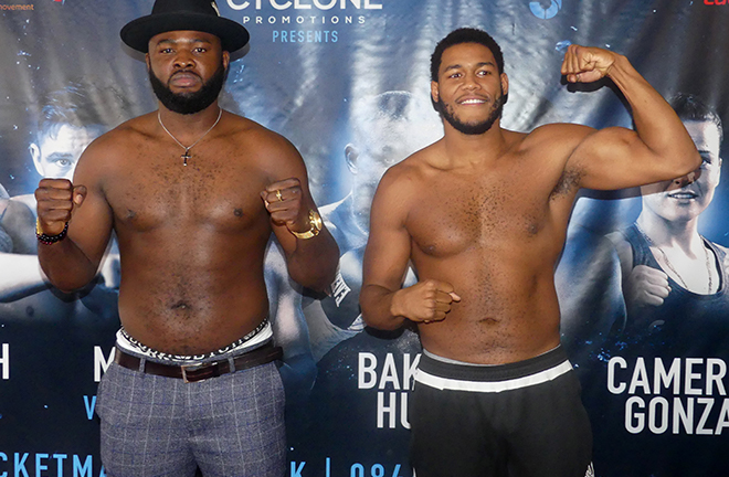 Hunter got the better of Bakole the last time they met at York Hall Credit: RINGNEWS24