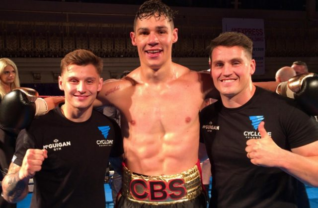 Bournemouth's Chris Billam-Smith has just one defeat in the pro ranks Credit: topclassboxing