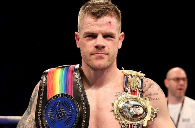 Callum Johnson has been mandated to face Mikhalkin Photo credit: lincolnshirelive.co.uk