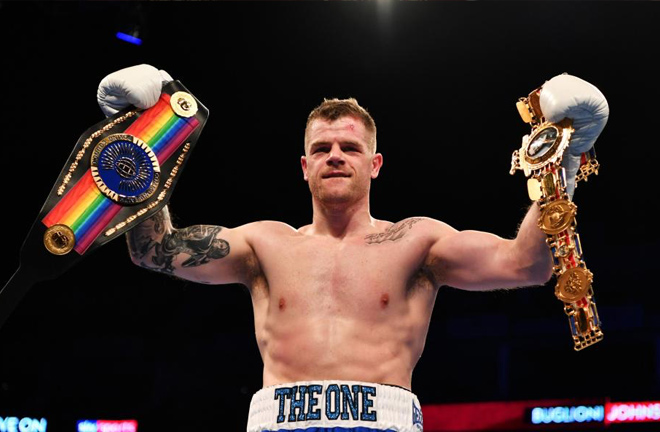 Former British and Commonwealth champion, Callum Johnson. Photo credit: talksport.com