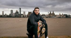 Callum Smith faces mandatory challenger John Ryder at the M&S Bank Arena on Saturday: Credit: Matchroom Boxing