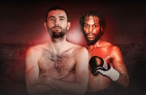 Carroll vs Ofori. Photo credit: mtkglobal.com