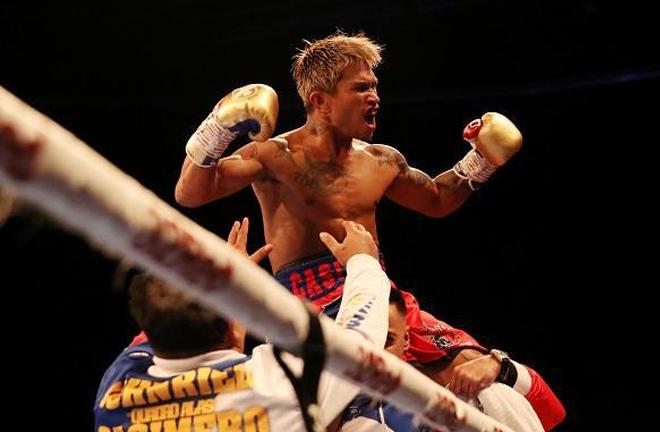 John Riel Casimero ended Zolani Tete's reign as WBO Bantamweight world champion last November Credit: MSN Philiipines