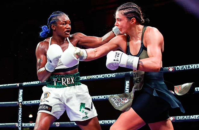 Claressa Shields. Photo credit: boxingnewsonline.net