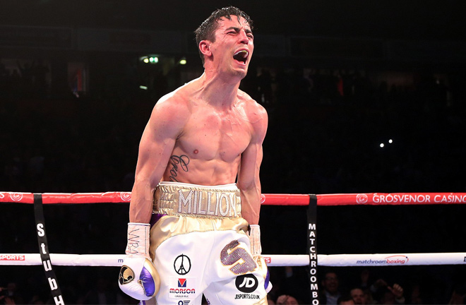 An ecstatic Crolla. Photo credit: dailymail.co.uk