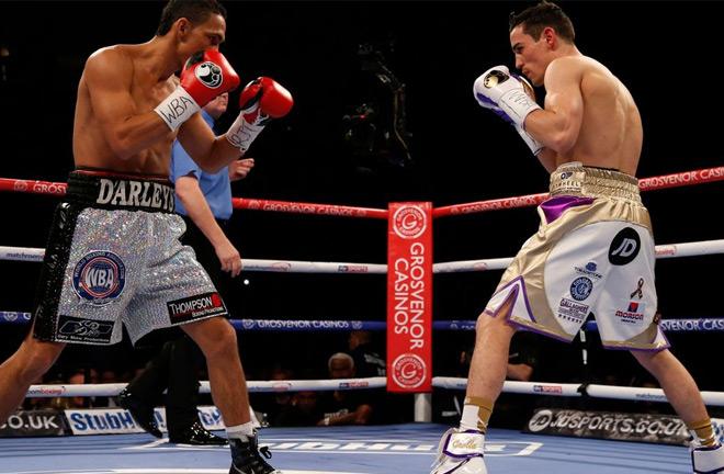 Crolla vs Perez. Photo credit: manchestereveningnews.co.uk