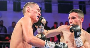 Alex Dilmaghani and Francisco Fonseca played out an entertaining draw at York Hall Credit: Hennessy Sports