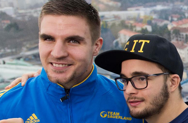 Skoglund and Anthony Yigit. Photo credit: gp.se