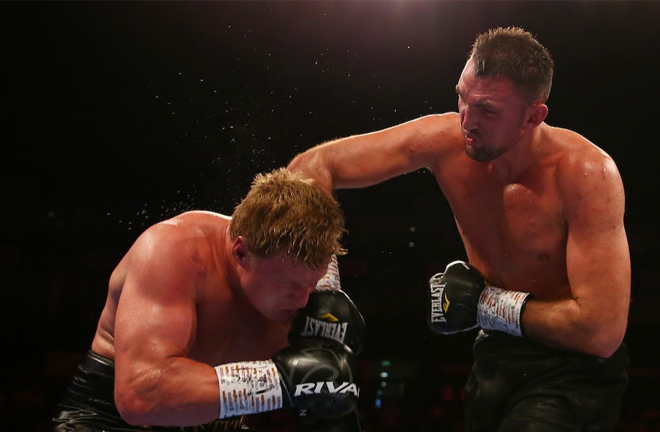 Fury suffered a setback losing to former world title challenger Alexander Povetkin in August Credit: Matchroom Boxing