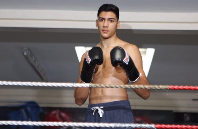 Hamzah Sheeraz returns to action at Birmingham Arena on Saturday