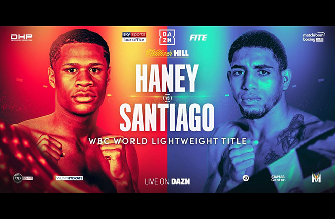 WBC Lightweight champion Devin Haney will appear on the KSI vs Logan Paul undercard Credit: Matchroom Boxing