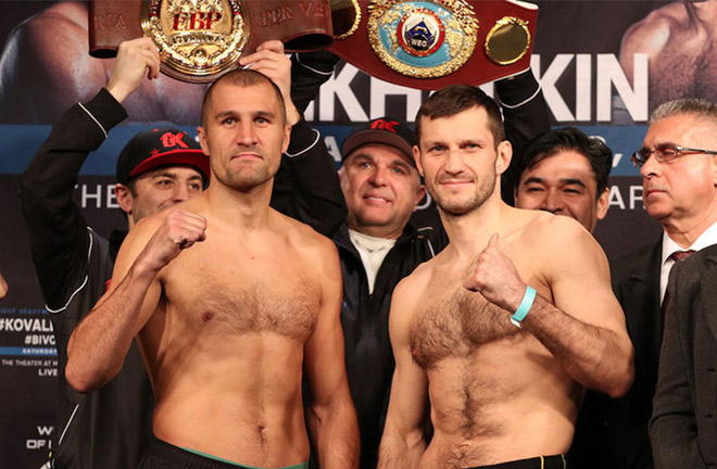 Mikhalkin was stopped in seven rounds against former WBO titlist Sergey Kovalev in March 2018 Photo credit: boxingchannel.tv