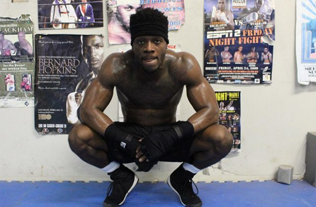 Marsellos Wilder fights on his brother Deontay's undercard on Saturday Credit: WBN