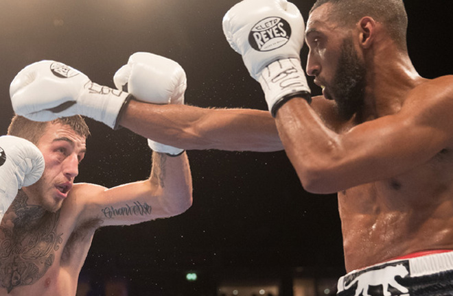 Minoue successfully claimed the European title from Sam Eggington in 2018 Credit: Sky Sports