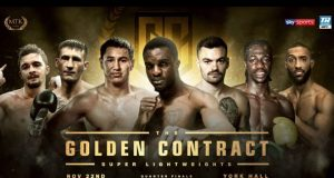 The Golden Contract Super Lightweight quarter finals take place at York Hall on Friday Credit: MTK Global