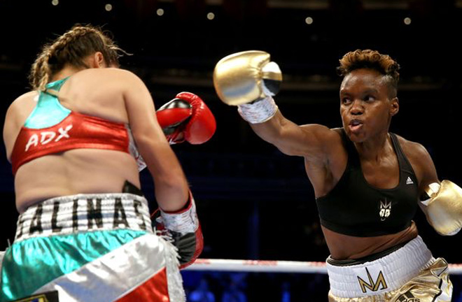 World champion, Nicola Adams, photo credit: mirror.co.uk