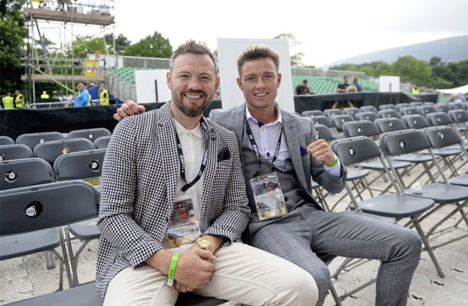 Paddy and Andy Lee. Photo credit: irishnews.com