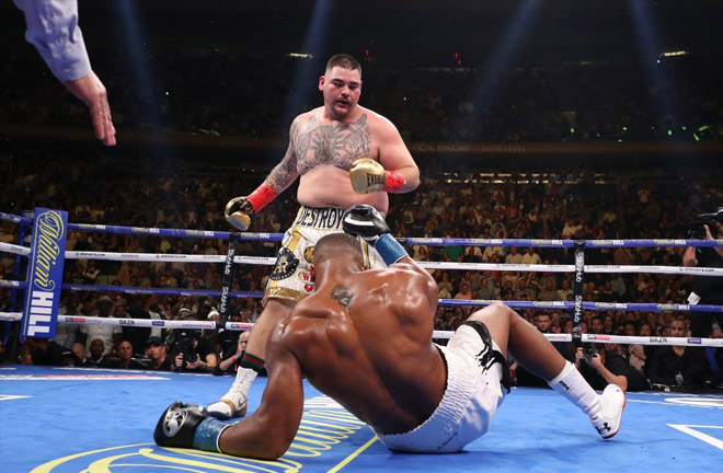 Ruiz Jr en route to beating Anthony Joshua. Photo credit: talksport.com