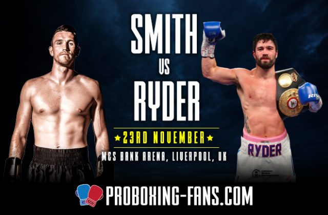 Callum Smith defends his WBA 'super' Super Middleweight title on Saturday