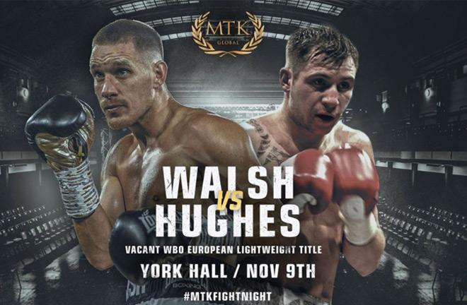 Liam Walsh vs Maxi Hughes. Photo credit: mtkglobal.com
