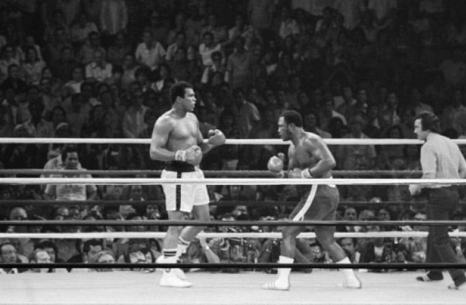 Muhammad Ali fought Joe Frazier in a bout dubbed 'Thrilla in Manila' in the Phillippines Credit: skysports.com