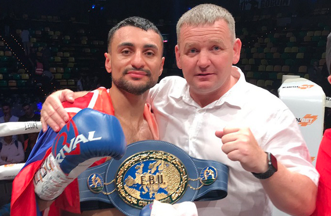 David Avanesyan makes the third defence of his European strap Credit: Team Avanesyan