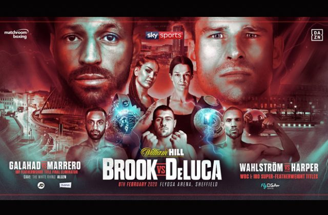 Kell Brook returns on February 8th in Sheffield against Mark DeLuca Credit: Matchroom Boxing