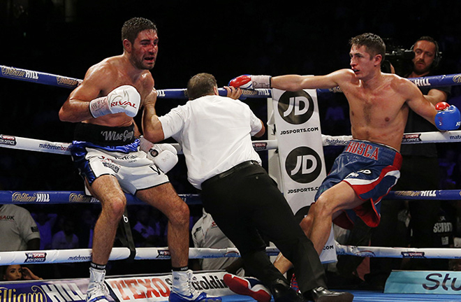 Hosea Burton's sole defeat was to Frank Buglioni in 2016 Credit: Action Images/Andrew Couldridge