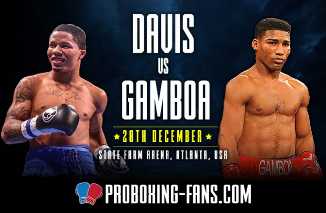 Davis vs. Gamboa – Big Fight Preview & Prediction