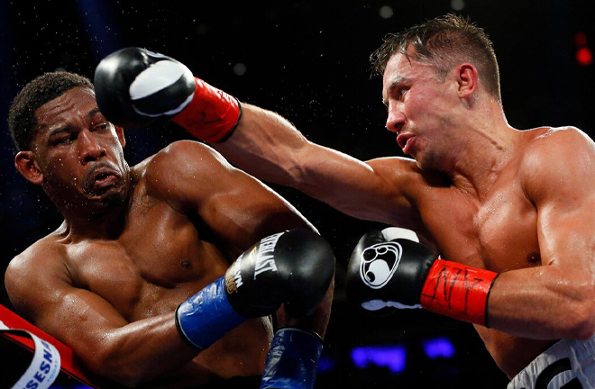 McFarlane fought on the undercard of Gennady Golovkin's win over Danny Jacobs in 2017 Credit: AP