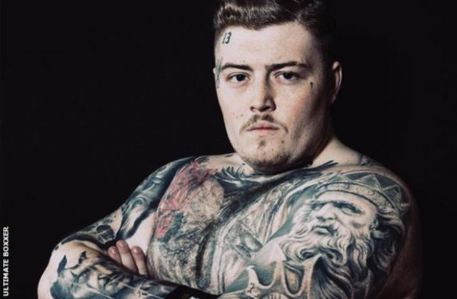 Jay McFarlane will compete in Ultimate Boxxer 6 in Altrincham on Friday night Credit: Ultimate Boxxer/BBC Sport