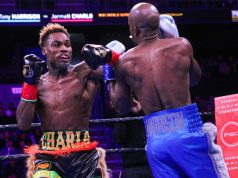Jermell Charlo became a two-time world champion beating Tony Harrison in their rematch in California