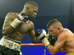Luther Clay is the WBO global champion at welterweight Credit: Boxing Scene
