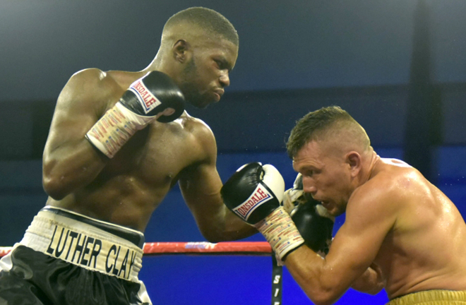 Luther Clay is seven unbeaten since his sole defeat in 2017 Credit: Boxing Scene