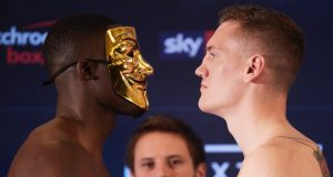 Richard Riakporhe faces Jack Massey for the vacant British title at York Hall on Thursday Credit: JD Sports