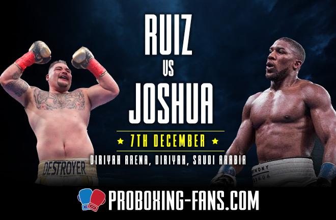 Ruiz Vs Joshua 2