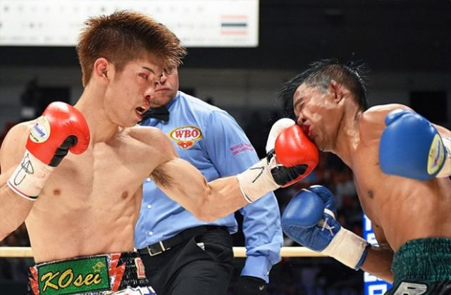Kosei Tanaka is the youngest and fastest to win world titles in three weight classes. Photo credit: ringtv.com
