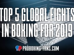 James Lupton looks back at the Top Five Fights of 2019