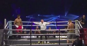 The Ultimate Boxxer IV Final of the heavyweights was between Mark Bennett & Nick Webb.