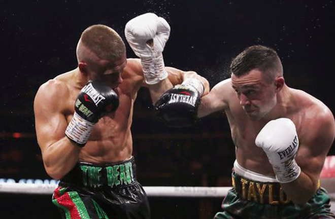Baranchyk's sole defeat saw him lose the IBF world title to Josh Taylor Credit: Action Images