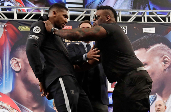 Miller saw a clash with Anthony Joshua cancelled after failing several VADA tests Photo Credit: AP Photo/Frank Franklin II