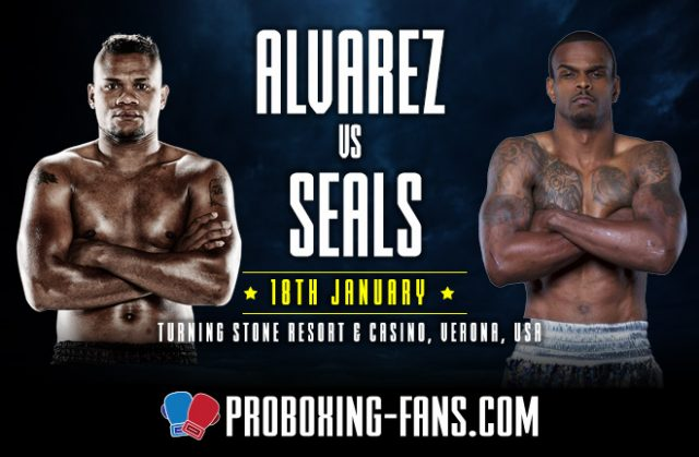 Eleider Alvarez returns to the ring for the first time since defeat to Sergey Kovalev against Michael Seales in New York