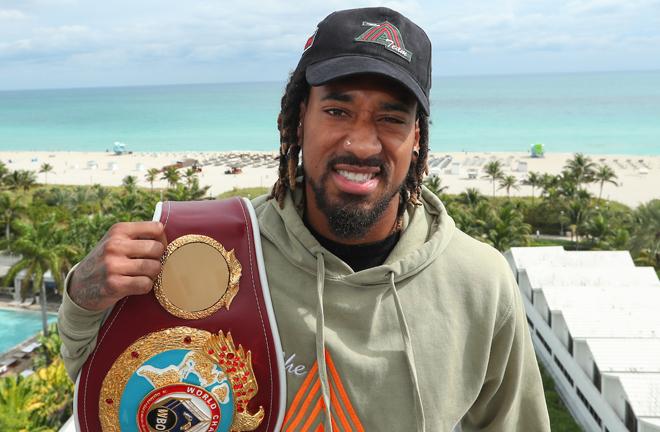 Williams is mandatory to WBO Middleweight world champion Demetrius Andrade Photo Credit: Ed Mulholland/Matchroom Boxing USA