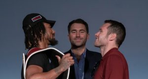 Demetrius Andrade defends his WBO world Middleweight crown against Luke Keeler in Miami Credit: Alex Nunez