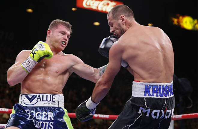 Canelo has vacated the WBO light heavyweight crown he captured from Sergey Kovalev