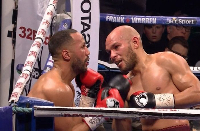 Truax ripped away James De Gale's IBF world title in 2017 Credit: Boxing News 24