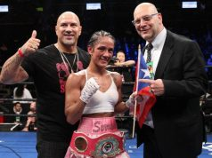 "Promoter Lou Di Bella has described Amanda Serrano as a ""pound-for-pound queen"" Credit: Ed Diller/DiBella Entertainment"